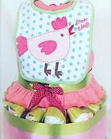 Beautiful Nappy Cake Baby Gifts delivered in & around the Joburg area