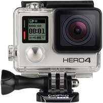GoPro Hero 4 Silver Edition Camera and Lexar64GB Card, excellent condi