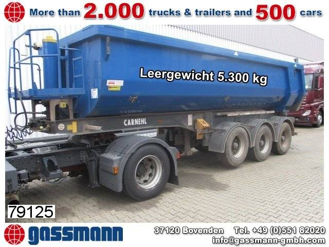 Carnehl chks 34/ahs alumulde ca. 25m³ leer5.300kg - 2013