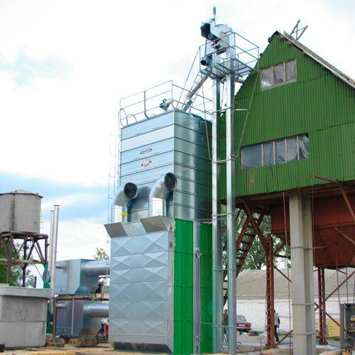 Mepu Stacionarnye zernosushilki  serii RCW grain dryer - 2017