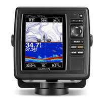 GPS map 527XS with Transom Trolling Motor