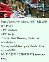 Sheesha pot for sale and hire