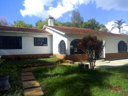 4 bedroom house to rent at loresho