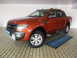 2014 Ford Ranger 3.2TDCi Wildtrack 4x4 Auto