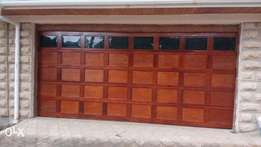 Garage remote doors