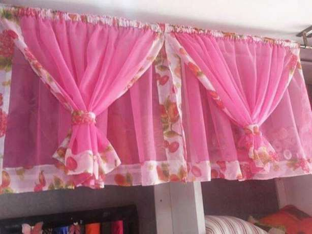 Ready made durable and elegant curtains with matching sheer. 900/- Bamburi - image 1