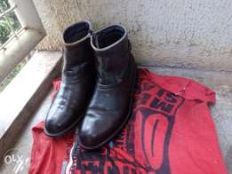 Official leather boots
