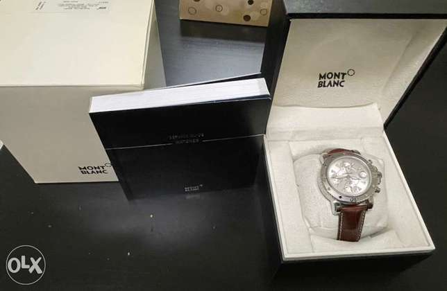 Automatic Montblanc Brown Strap - New