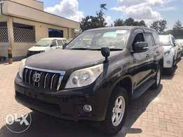 Toyota Landcruiser Prado 2010 Model 4WD Automatic Black Color KCN