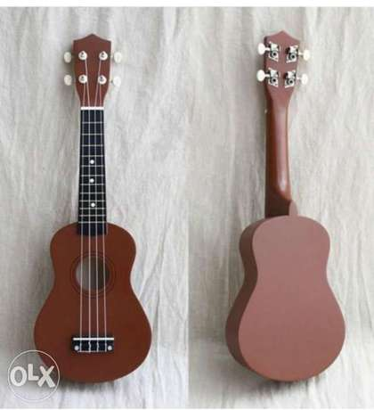 21 Inch Small Guitar Brown