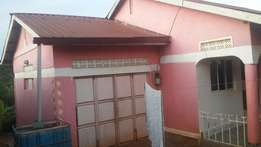 Residential 3bed roomed house with rental has garage namugongo sonde