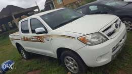 2007 Bullet proof Hilux pickup for sale at 8.2m.
