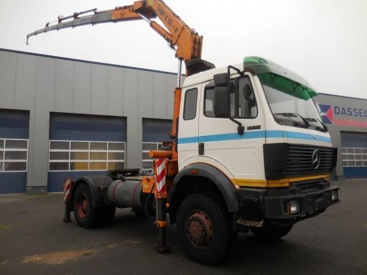 Mercedes-Benz 1735 V8 - 4x4 - Atlas 16 - 4 + 2, Kran Crane (german Truck - 1990 - image 2
