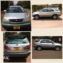 Toyota harrier inauzwa