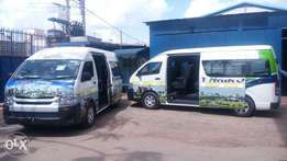 Shuttles and Vans complete conversion