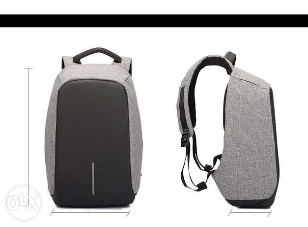 "Multifunction convenient backpack 15"" w/ usb charger Travel Laptop bag"