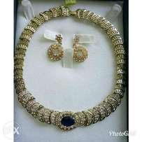 Gold Jewelry Set
