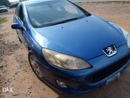Very neatly naija used Peugeot 407 up for sale at an affordable price!