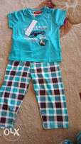 Pajama for boys age 4-5yrs,6-7yrs,7-8yrs