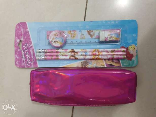 Brand new pouch and stationery set