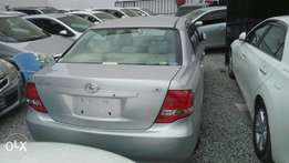 Toyota Axio Silver KCN number