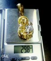 Pure Gold Pendant