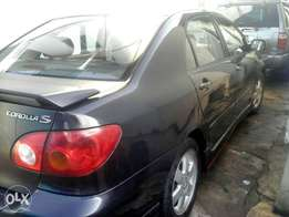 Clean tokunbo toyota corolla sport accident free