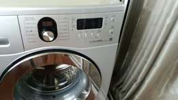 Samsung front loader eco bubble washing machine