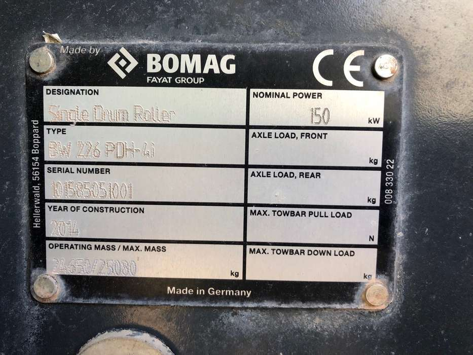 BOMAG BW226 PDH-4 - 2014 - image 10