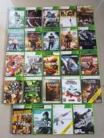 XBOX 360 GAMES 24x for sale