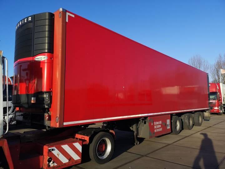 Pacton SYSTEM TRAILER / FRIGO / CARRIER / LIFT / X-STEERING / L1... - 2007