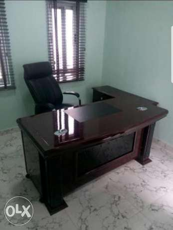 Office table 1.6m with extantion Agege - image 1