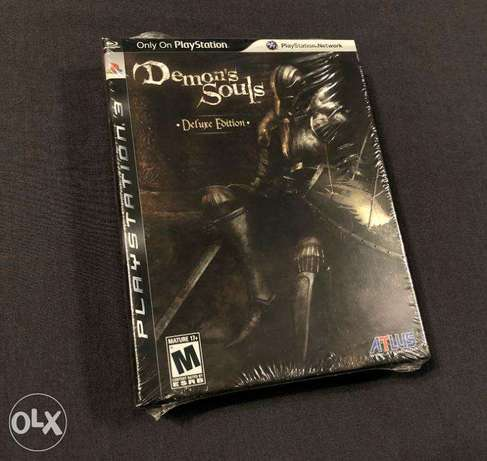 [RARE] Demon's Souls Deluxe Edition (with Artbook) - US/R1 - PS3 (NEW) القرين -  2