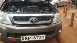 Toyota double cabin on sale in excellent.