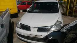 Nissan tiida 2005 model 1.8 stripping for parts