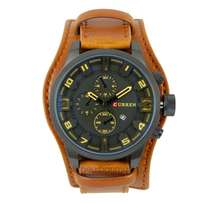Curren Leather watches,at 3000ksh.