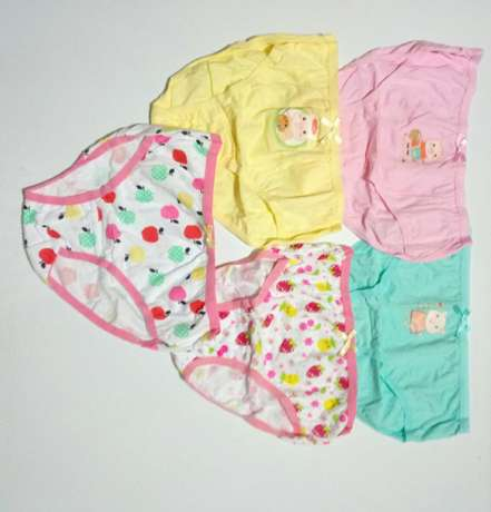 5 Girls Panties pack - Ages 3-12yrs South C - image 4