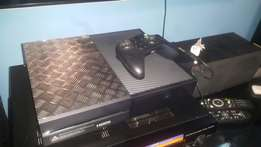 Xbox 1 500gb with 2 games and 24inch LG led hd monitor