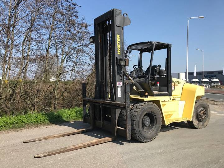 Hyster H10.00XM-6 1600 hrs only! - 2007