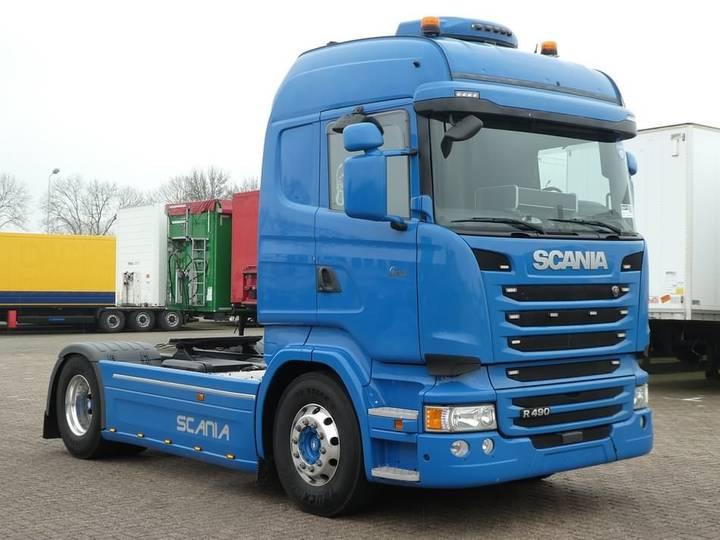 Scania R490 highline,bi-cool,alu - 2015