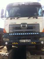 hino double steering tipper