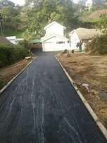 Tarred surfaces/domestic & industrial roads,driveways & parking areas.