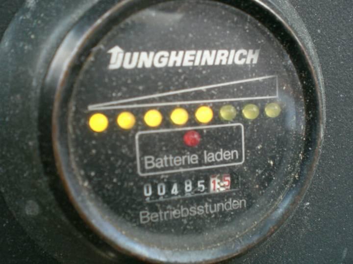 Jungheinrich ETV A 13,5 GE 115-530 mit Ladegerät - 1991 - image 15