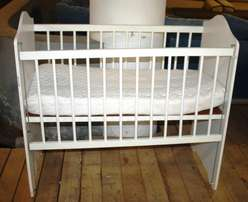 Wooden Baby Cot S023547A