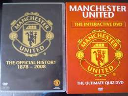Manchester United dvd's for sale