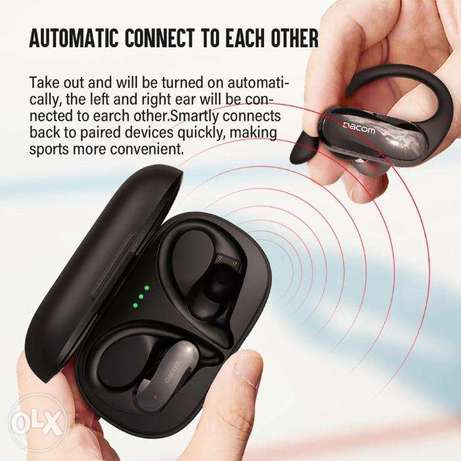 DACOM ATHLETE TWS Bluetooth Earbuds Bass True Wireless
