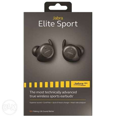Jabra Elite Sport True Wireless Bluetooth Waterproof