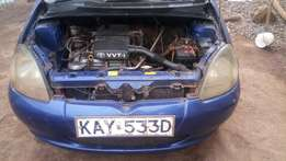 1000 CC Toyota vitz for sale with low mileage.