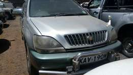 Quick sale! Toyota Harrier KAV available at 600k negotiable!