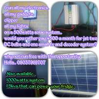 Solar power installation .. abuja